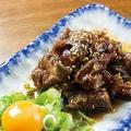 料理メニュー写真砂肝の唐揚げ タレ