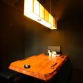 【プライベート空間】寛ぎのハイチェアー・テーブル席♪