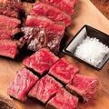 料理メニュー写真牛もも肉ステーキ 200g