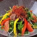 料理メニュー写真特製NOBIANI(ノビアニ)お肉のチョレギサラダ