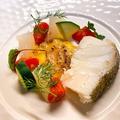 料理メニュー写真「タラ」の白ワイン蒸し焦がし味噌ソース