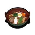 料理メニュー写真ミニ冷麺/カルビうどん