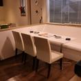 6名様のテーブル席です。※テーブルの移動・連結が可能ですので少人数から大人数の宴会や貸切も、ご利用いただけます。