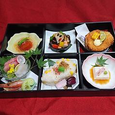 彩り松花堂弁当(※写真は8月のイメージです)