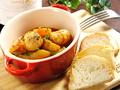 料理メニュー写真自家製ソーセージのトマト煮込み