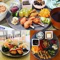 料理メニュー写真マクロビプレートセット(酵素玄米+お味噌汁付き)[豆腐プリン、オーガニックコーヒーor紅茶つき]