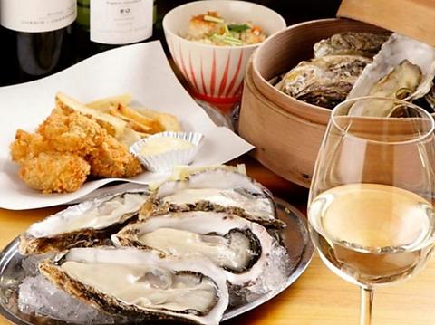 牡蠣食べ放題2980円~!全国から取り寄せる旬の牡蠣を思う存分食べ放題!