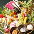 【3】安心・安全の新鮮野菜を使用!仙台市の自社農園や、契約農家から直送される新鮮野菜を使用した本格和食。