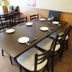 <6名テーブル×1卓>ございます。ご家族様でのご利用もおすすめです☆