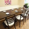 <8名様同じテーブルへご案内できます>テーブル同士をくっつけて人数に合わせて対応致します◎