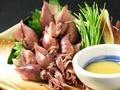 料理メニュー写真ほたるいか 酢味噌・生姜
