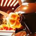 料理メニュー写真【全プラン対象】人気のチョコファウンテンがBEER&BBQに初登場!とろーりチョコをマシュマロに♪
