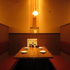 周りを気にせずプライベート空間でご宴会をお楽しみいただけます!落ち着いた空間でお酒もすすむ◎個室席なので飲み会、女子会などに最適です。お得なクーポンも多数ございますので、ぜひご利用ください◎
