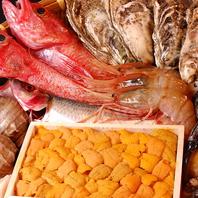 産地にこだわった鮮魚を使用。北海道の魅力を堪能…