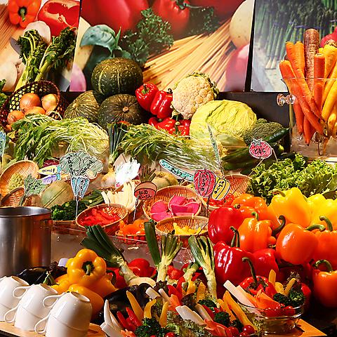 落ち着いた店内で野菜料理を味わえます!宴会/女子会/合コン様々な用途におすすめ☆