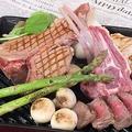 料理メニュー写真仔牛のTボーングリル/鹿児島産鶏むねor鶏もも~タタキ仕立て~