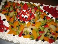 なんでもお祝いにケーキを
