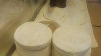 自家製餃子の皮