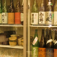 全国の銘酒が勢揃い!日本酒好きにはたまらない品揃え