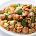 料理メニュー写真鶏肉とカシューナッツの炒め