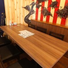 6人掛け テーブル個室席