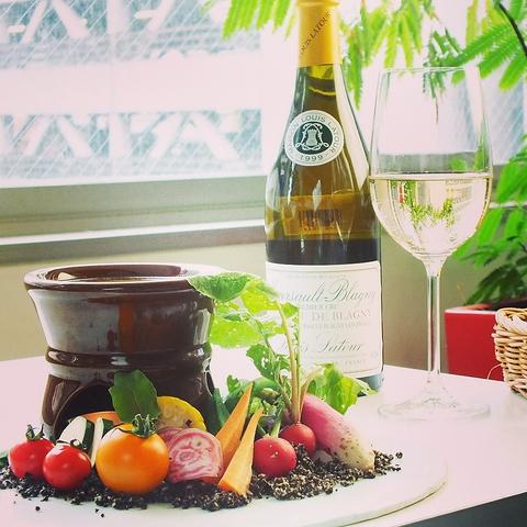 本格イタリアンと豊富なワインが楽しめる♪各種宴会やパーティーでのご利用も!