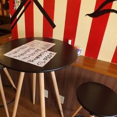 2人掛け テーブル席