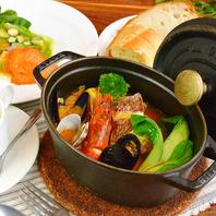 博多・長浜港魚介の旨味たっぷりパエリアやブイヤベース