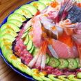 ありとあらゆる記念日に♪海の玉手箱☆アニバースシー☆【なんといっても鮮魚が自慢♪】湘南の宝石!!をふんだんに使った木村の海岸のお祝い企画!ありとあらゆる記念日に!鮮魚をふんだんに使った寿司ケーキをぜひご賞味ください☆ご予約にて承っておりますのでお気軽にお申し付けくださいませ♪
