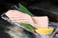 料理メニュー写真上ミノステーキ