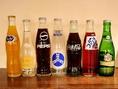 【瓶入りドリンク】コカコーラやバリヤースオレンジ…懐かしい気持ちに。