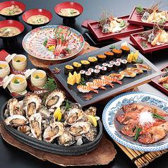 日本海庄や 古河西口店のコース写真
