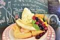 料理メニュー写真【Sweets】ミックスフルーツ&ホイップクリーム