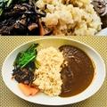 料理メニュー写真薬膳カレーセット[豆腐プリン、オーガニックコーヒーor紅茶つき]