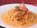 料理メニュー写真【トマトクリーム】渡り蟹のトマトクリーム