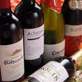 料理メニュー写真【おすすめドリンク】ワイン各種(ボトルも2000円台からご用意)