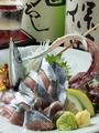 料理メニュー写真釧路産生さんま刺身姿盛り