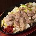 自慢の博多鉄板焼き肉は白飯もお酒も相性も抜群です!