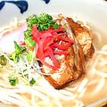 料理メニュー写真ソーキ沖縄そば (大)