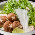 料理メニュー写真霧島鶏の水炊き