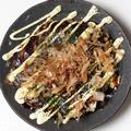 料理メニュー写真【お好み焼き】豚玉
