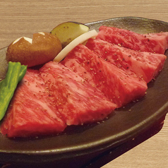 料理メニュー写真和牛の黒胡椒焼