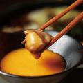 料理メニュー写真はち鳥名物 奥三河鶏と特製割下のとりすき鍋 1人前