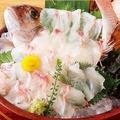 料理メニュー写真真鯛の活け造り(1~2人前)