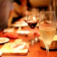 カジュアルな本格フレンチとソムリエ厳選ワイン