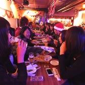 歓送迎会に!仲間同士や同僚とのパーティーにおすすめ!立食貸切パーティーは最大70名様までOK!※写真はイメージです。※写真は系列店