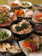 宴会コースは選べるメイン料理付!