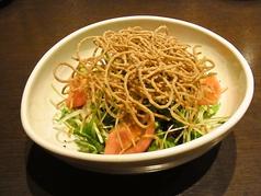 匠サラダ (揚げ蕎麦サラダ)