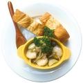 料理メニュー写真ぷりぷり海老ときのこのアヒージョ