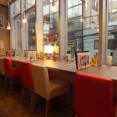 各テーブル席は、カーテンを降ろせば、半個室でお使いいただけます♪大宮/居酒屋/女子会/しゃぶしゃぶ/宴会